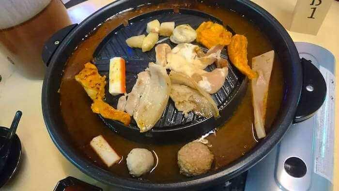 Dee Mak Mookata BBQ Food