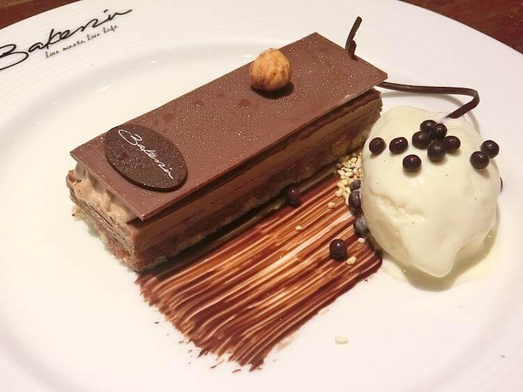 Bakerzin Chocolate Cake with Vanilla
